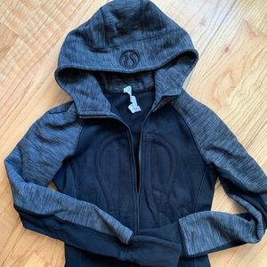 Lululemon Scuba Hoodie - black & space grey
